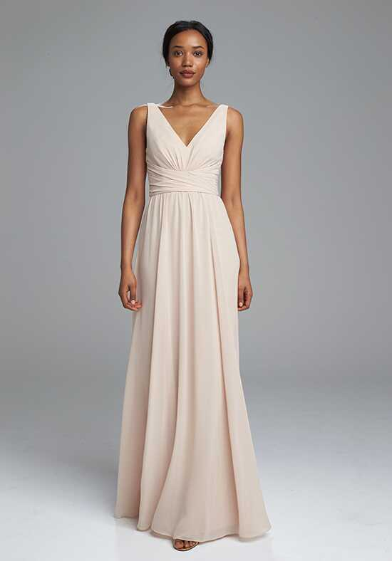 Amsale Bridesmaids Justine V-Neck Bridesmaid Dress