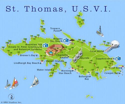 maps update st thomas map virgin islands st thomas map