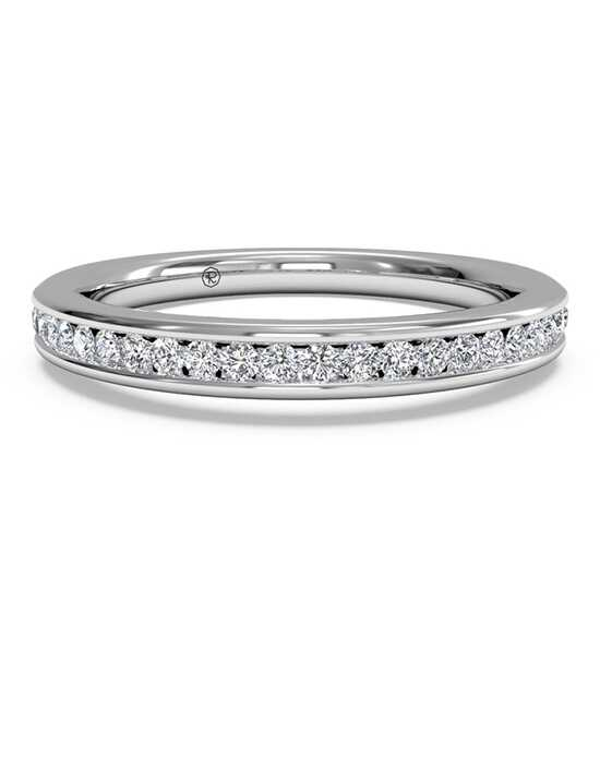 Ritani Women's Channel-Set Diamond Wedding Band - in 14kt White Gold (0.15 CTW) White Gold Wedding Ring
