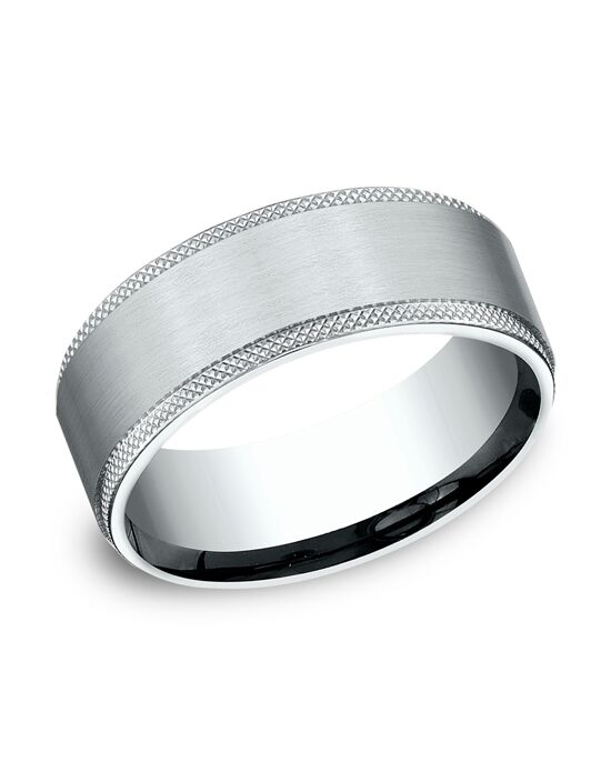 Benchmark CF188749W White Gold Wedding Ring