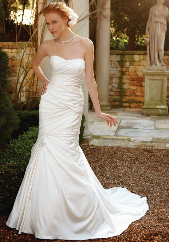 Casablanca Bridal 2037 Mermaid Wedding Dress