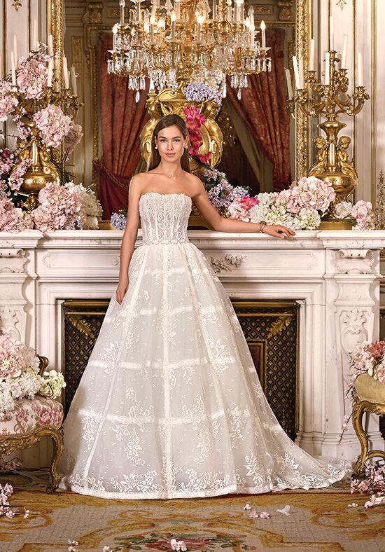cf836f19a4 ColsBM Isabel Platinum Simple A Line Zipper Tea Length Paillette Plus Size Bridesmaid  Dresses. Platinum By Demetrios DP373