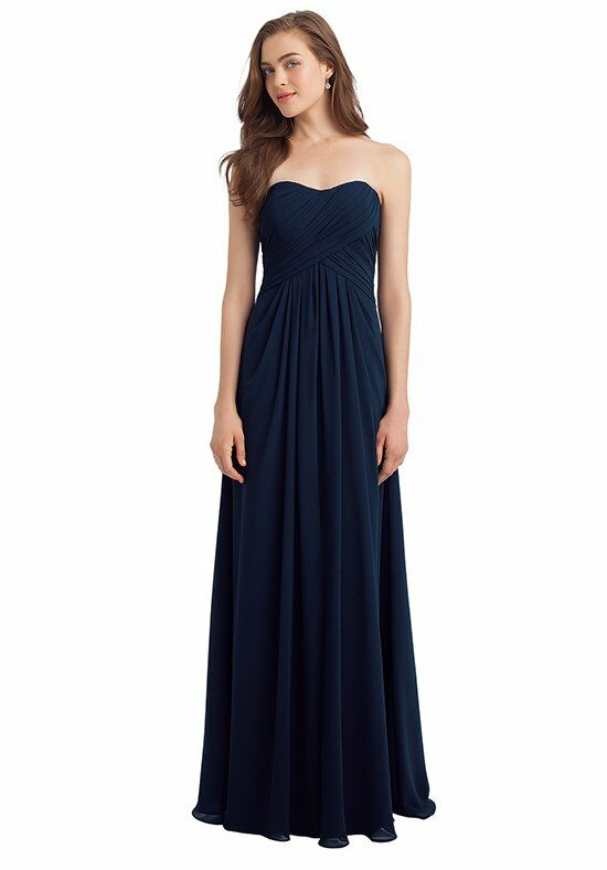 Bill Levkoff 1120 Strapless Bridesmaid Dress