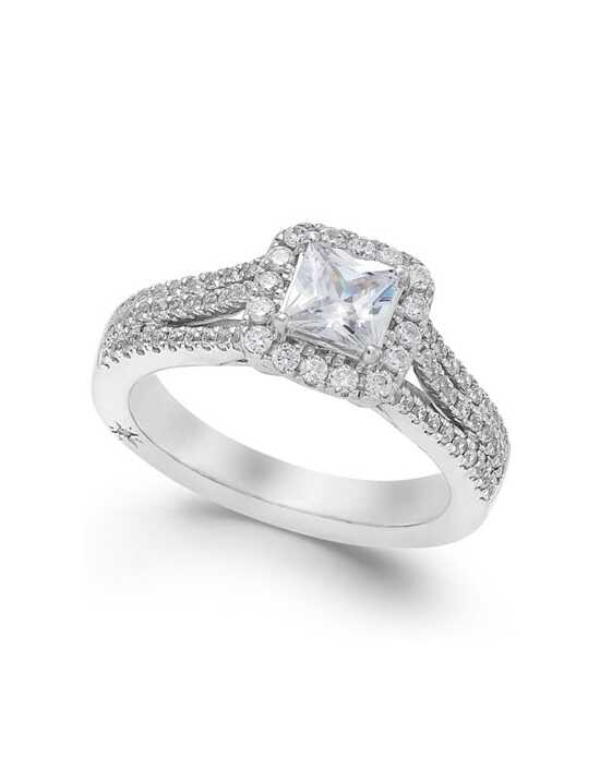 Macy's Fine Jewelry Glamorous Princess Cut Engagement Ring
