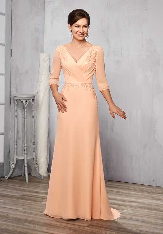 Beautiful Mothers by Mary's M2784 Orange Mother Of The Bride Dress