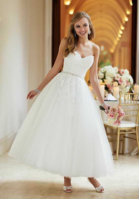 Tea Length Wedding Dresses
