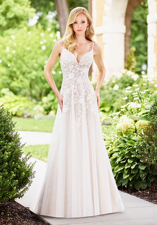 Enchanting by Mon Cheri 118136 A-Line Wedding Dress