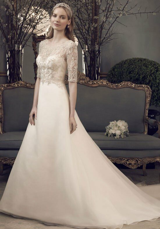 Casablanca Bridal 2162 A-Line Wedding Dress