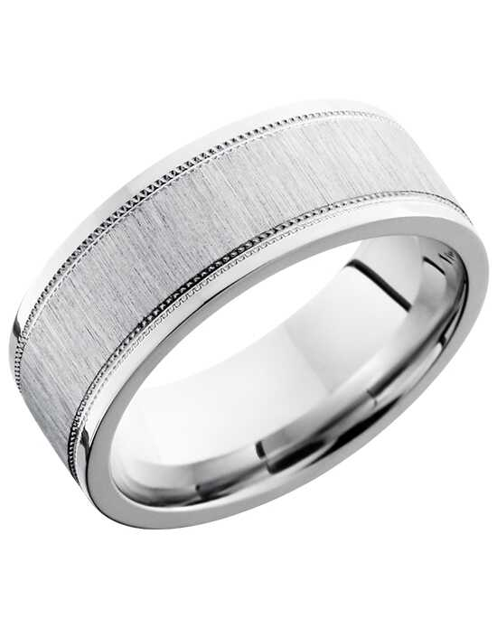 "Say ""I do!"" in Platinum Lashbrook PLAT8FEC2WUMIL Platinum Wedding Ring"