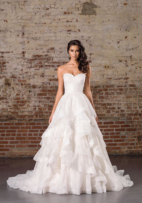 Justin Alexander Signature 9859 Ball Gown Wedding Dress
