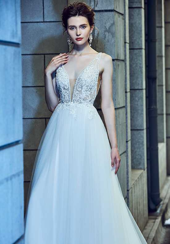 Calla Blanche 18120 Spencer Ball Gown Wedding Dress