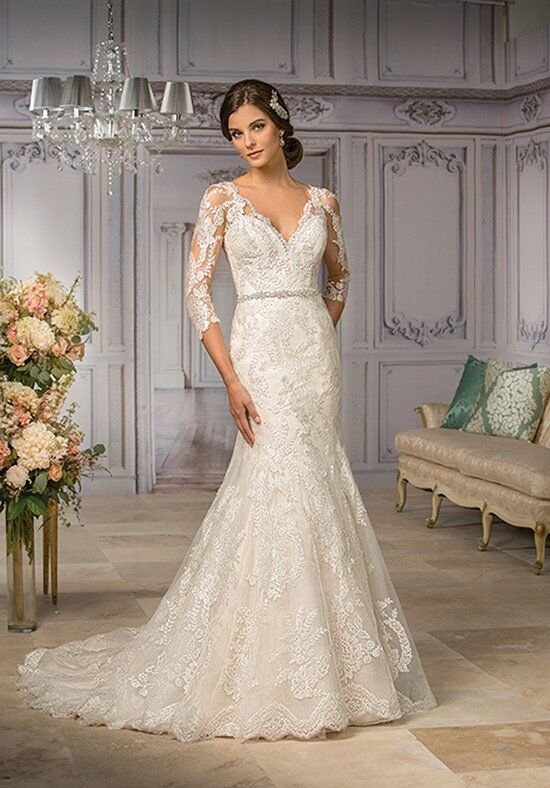 Jasmine Couture T182004 Mermaid Wedding Dress