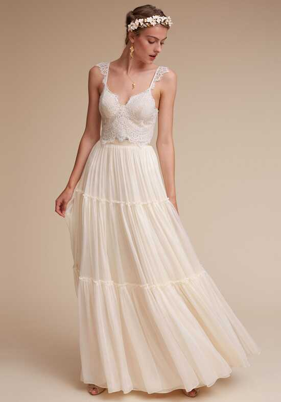 BHLDN Iris Top & Agatha Skirt A-Line Wedding Dress