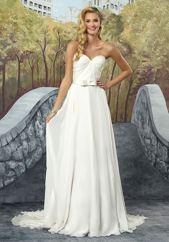 Justin Alexander 8916 A-Line Wedding Dress