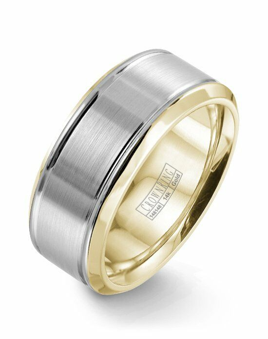 CrownRing WB-9937-M10 Gold Wedding Ring