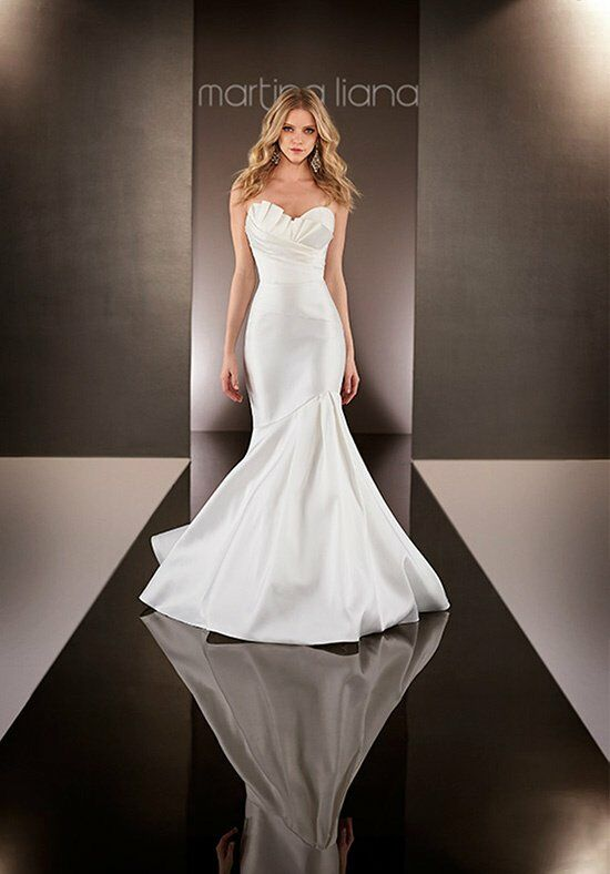 Martina Liana 582 Mermaid Wedding Dress
