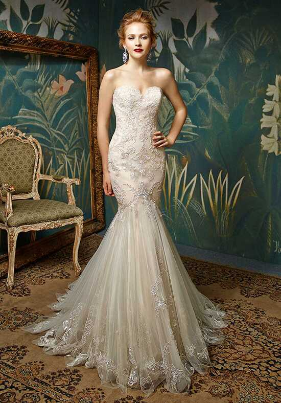 Blue by Enzoani Jion Mermaid Wedding Dress