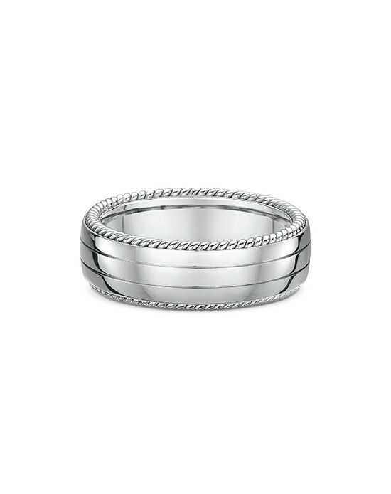 "Say ""I do!"" in Platinum Men's Wedding Band-645A00G Platinum Wedding Ring"