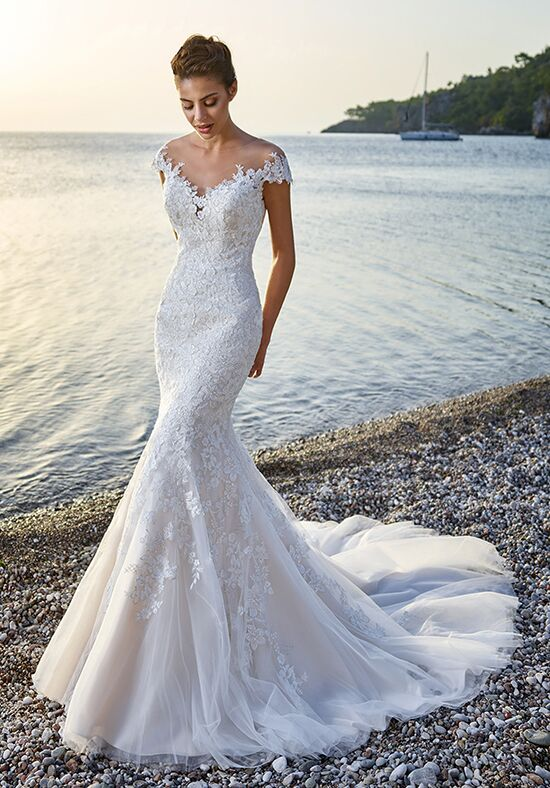 Eddy K Corsica Mermaid Wedding Dress
