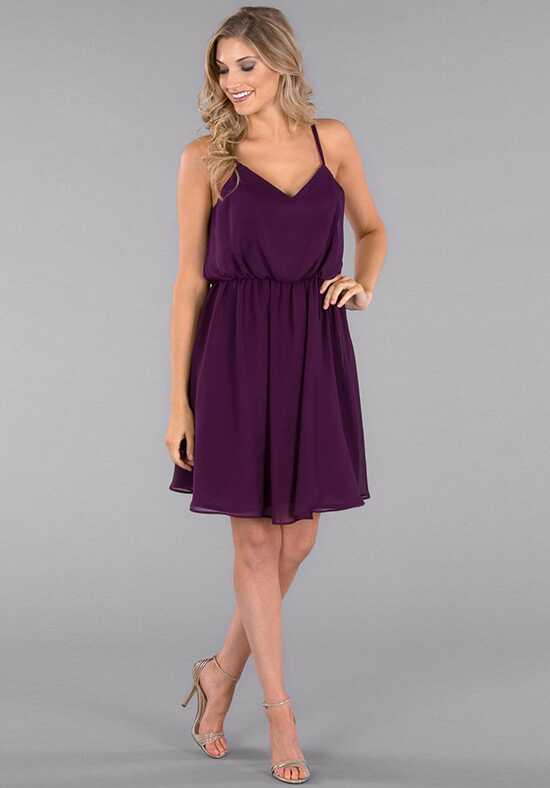 Kennedy Blue Jodie V-Neck Bridesmaid Dress