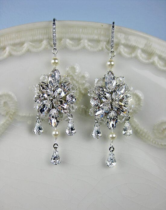 Everything Angelic Blanca Earrings - e321 Wedding Earring photo