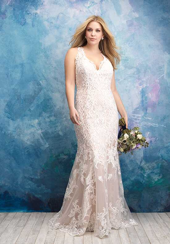 Allure Women W434 Sheath Wedding Dress