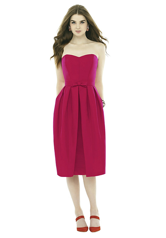 Alfred Sung D716 Sweetheart Bridesmaid Dress