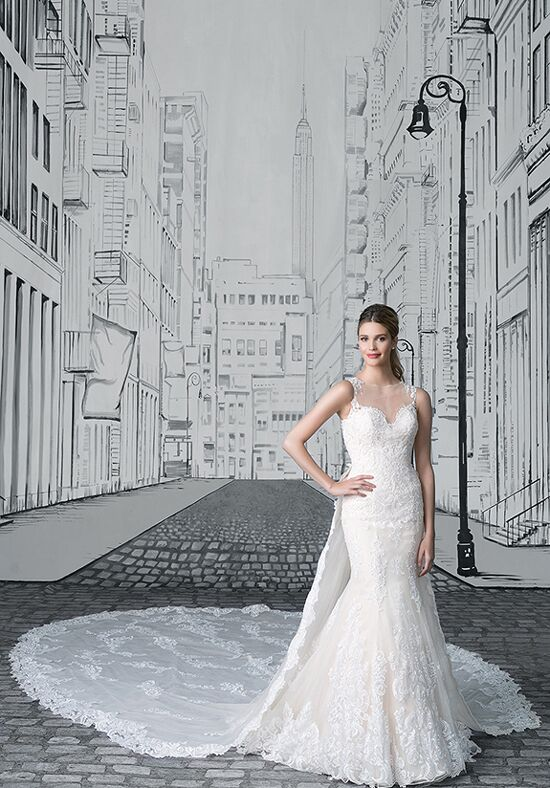 Justin Alexander 8909 A-Line Wedding Dress