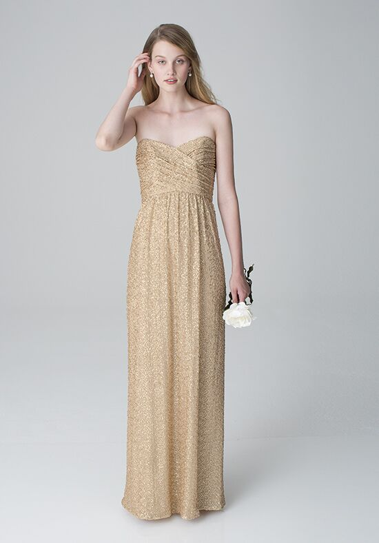 Bill Levkoff 1259 Strapless Bridesmaid Dress