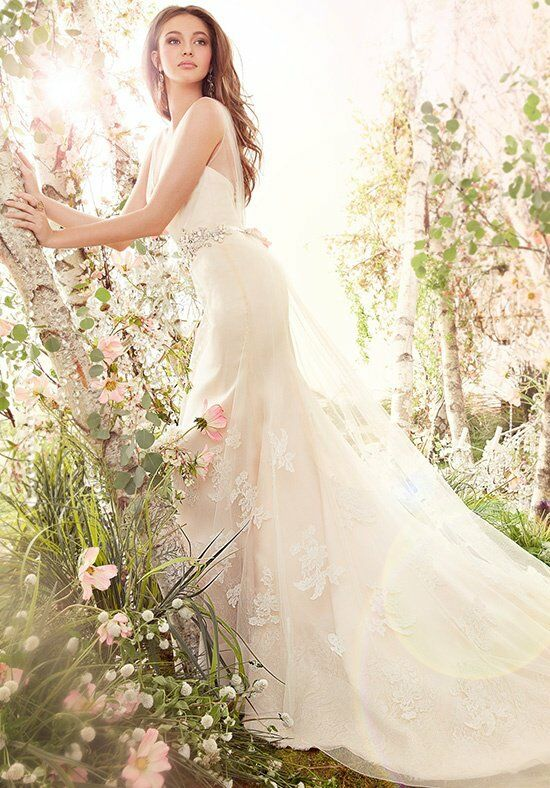 Jim Hjelm 8413 A-Line Wedding Dress