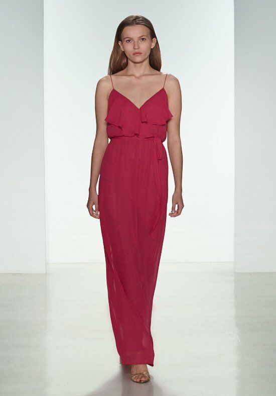 Nouvelle Amsale Bridesmaids N312 V-Neck Bridesmaid Dress