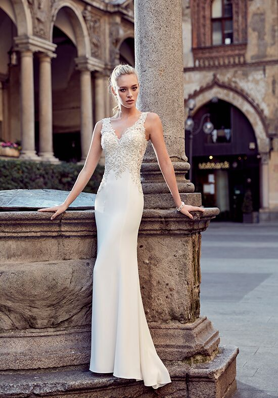 Eddy K MD225 Sheath Wedding Dress