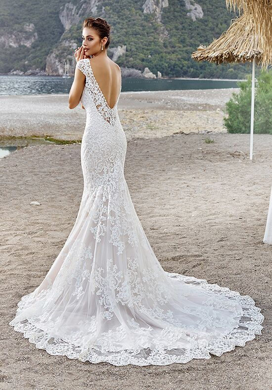 Eddy k bella wedding dress the knot eddy k bella mermaid wedding dress junglespirit Images