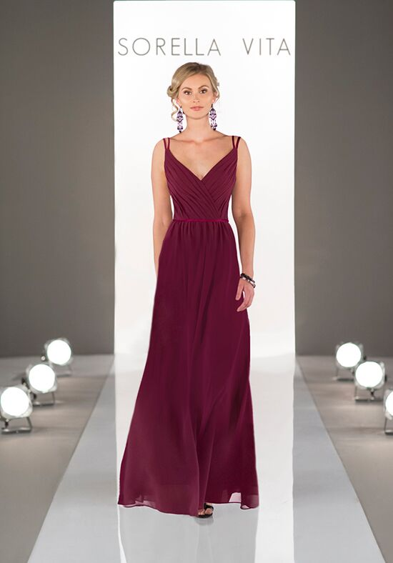 Sorella Vita 8614 V-Neck Bridesmaid Dress