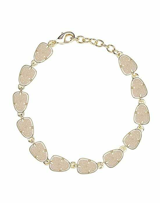 Kendra Scott Susanna Link Bracelet in Iridescent Drusy Wedding Bracelet photo