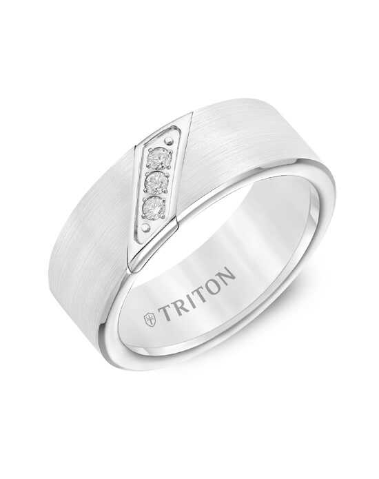 Triton 22-2953HC Tungsten Wedding Ring