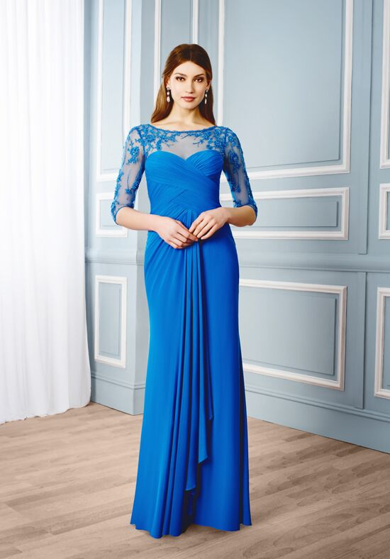 Val Stefani Celebrations MB7545 Blue Mother Of The Bride Dress