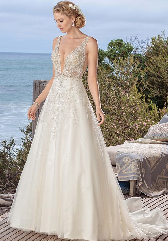 Beloved by Casablanca Bridal BL264 Pearl A-Line Wedding Dress