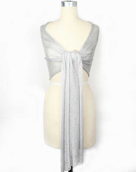 Blue by Betsey Johnson bl10104 silver Ivory Wrap