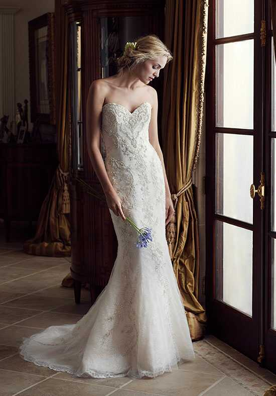 Casablanca Bridal 2231 Carnation Sheath Wedding Dress