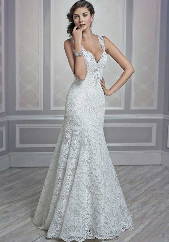 Kenneth Winston 1600 Mermaid Wedding Dress