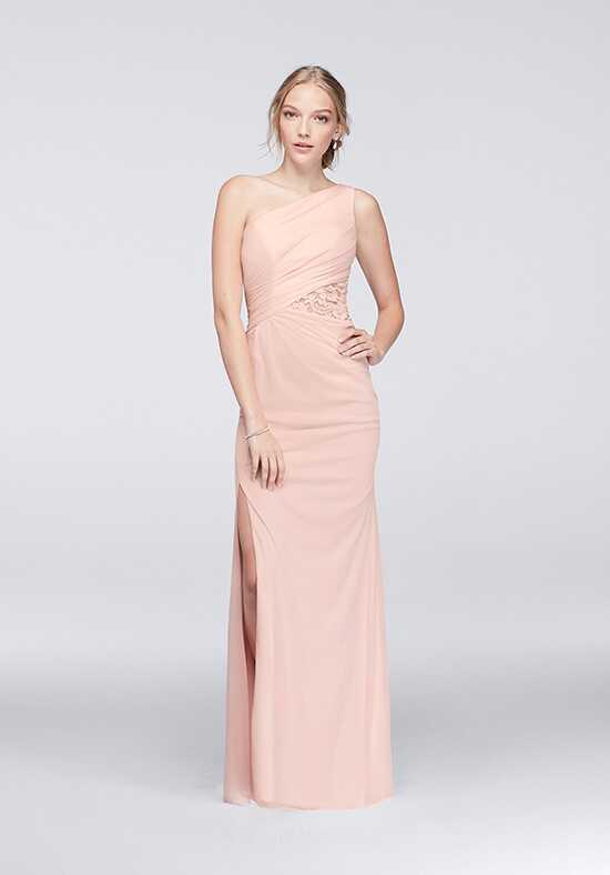 David's Bridal Collection David's Bridal Style F19419 One Shoulder Bridesmaid Dress