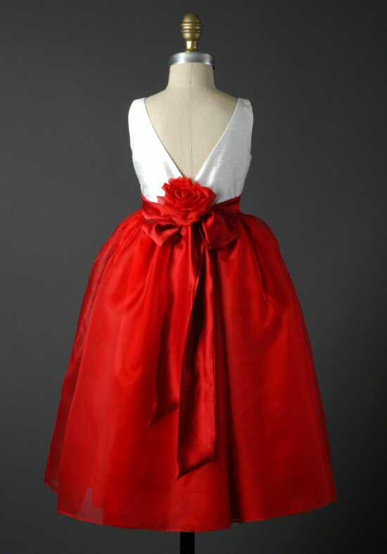 Elizabeth St. John Children Monique Red Flower Girl Dress