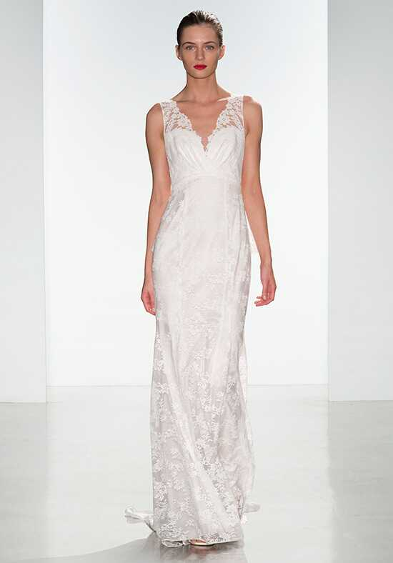 Nouvelle Amsale Dana Sheath Wedding Dress