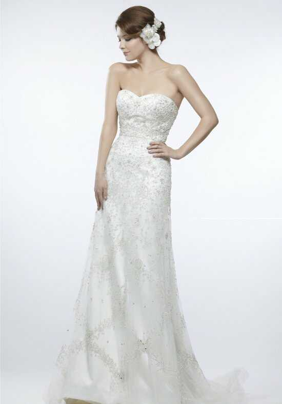 Saison Blanche Couture 4235 Sheath Wedding Dress