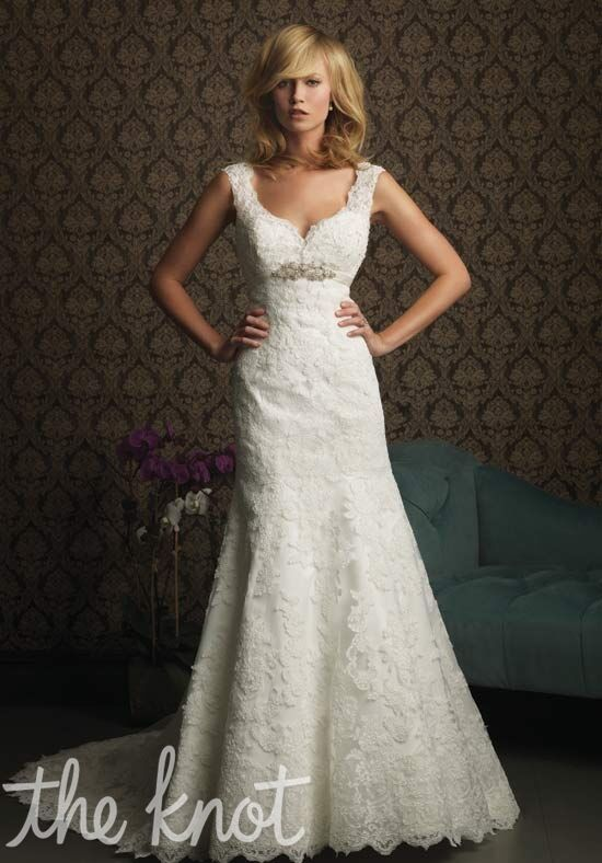 Allure Bridals 8770 A-Line Wedding Dress