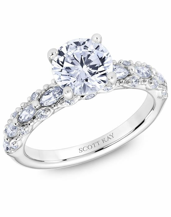 Scott Kay M2566R515 Engagement Ring - The Knot