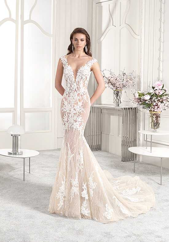 Demetrios 883 Mermaid Wedding Dress