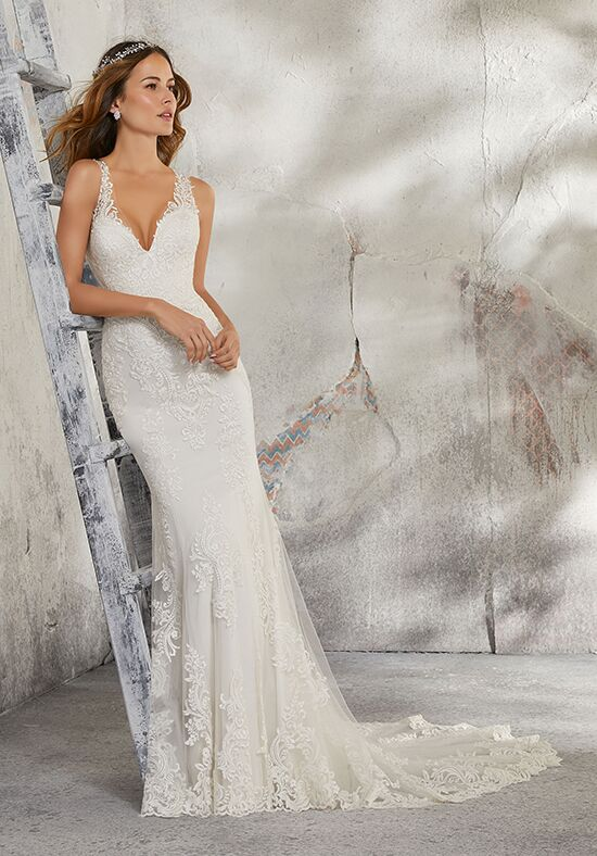 Morilee by Madeline Gardner/Blu 5685 / Leia Sheath Wedding Dress