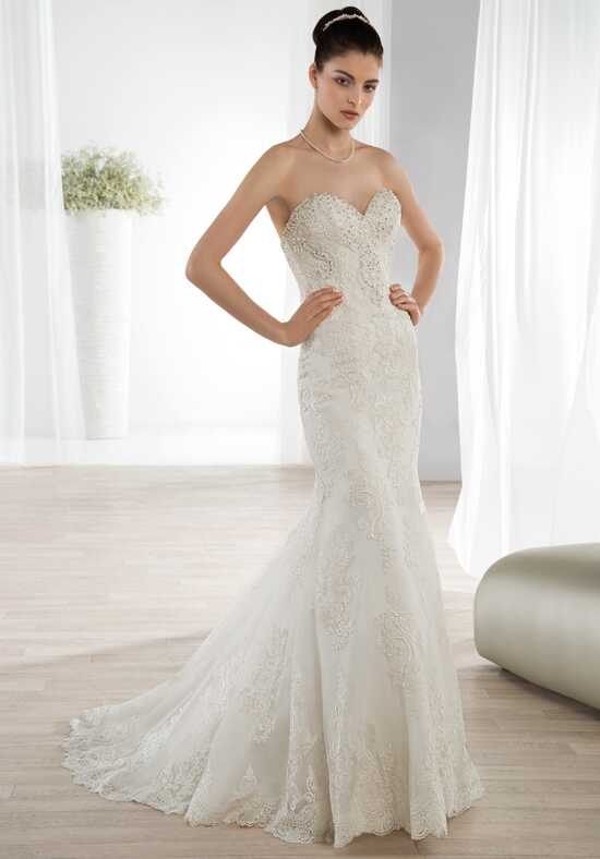 Demetrios 608 Mermaid Wedding Dress